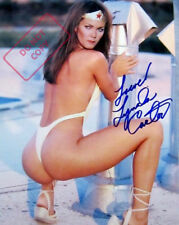 REPRINT 8.5x11 Signed  Photo: Lynda Carter - SEXY Wonder Woman