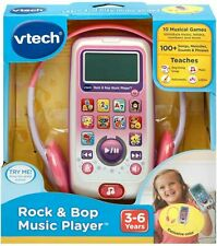 VTech Rock & Bop Music Player 100+ Songs Teaching Toy 3-6 Years Old Pink, NEW