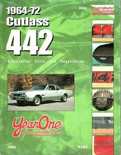 1964-72 Cutlass/442 Restoration Parts and Accessories Catalog - Year One 2003