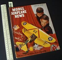 1953 Jan Vintage Model Airplane News USA Aeromodelling Hobby Magazine   (102)