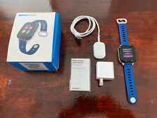 Gizmowatch Gizmo Watch Smartwatch Verizon Wireless - Black With 2 Blue Bands