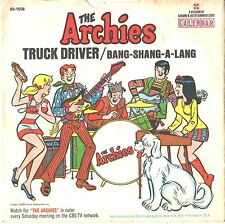 ARCHIES--PICTURE SLEEVE ONLY---(BANG-SHANG-A-LANG)--PS--PIC--SLV