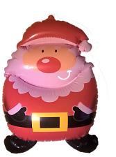 Navidad Novedad Inflable Figura Santa Claus Navidad volar divertida decoración
