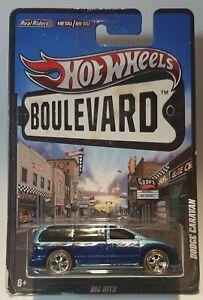 Hot wheels Boulevard DODGE CARAVAN REAL RIDERS