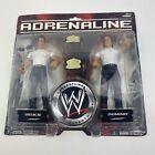 WWE WWF Wrestling Jakks Adrenaline Series 27 DEUCE & DOMINO Figures (MOC)