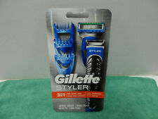 New Gillette Styler 3-in-1 Trim Shave Edge Waterproof Men's Razor 1 Cartridge