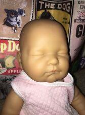 "Precious Life Like 14"" Chubby Berenguer Baby Doll All Vinyl Sleeping"