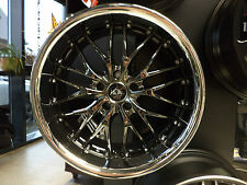 Barracuda Voltec T6 10x19 5x114.3 ET 23 black chrome Inox-Lip