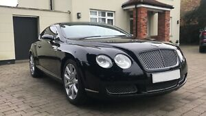 STUNNING BENTLEY CONTINENTAL GT AUTO COUPE FULL SERVICE HISTORY HPI CLEAR