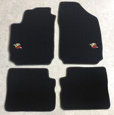 Autoteppich Fußmatten für Fiat Stilo Abarth Stick Nubukband Einfassung Neu 4tlg.