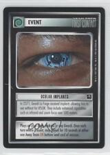 1997 Star Trek Customizable Card Game: First Contact #NoN Ocular Implants 1g9