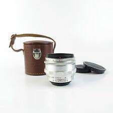 Für M42 Carl Zeiss Jena Alu Biotar 2/58 red T Q1 Objektiv lens