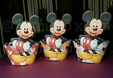 24 mickey mouse cupcake wrappers