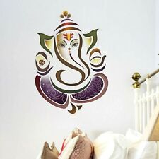 Religious Wall Stickers Posters Decals...Indian Hindu Elephant God Ganesh UK
