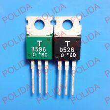 1pairs OR 2PCS TOSHIBA TO-220 2SB596-O/2SD526-O 2SB596/2SD526 B596/D526