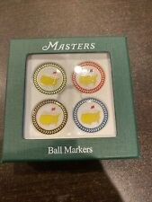 New 2013 Masters Golf 4-Pack Ball Marker Set - Augusta National