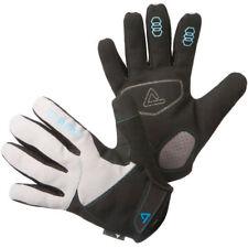 Dare 2b Mens Reactive Full Finger Cycling Gloves - Medium Black / Cyan Trim