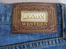 Womens Vintage Lawman High Waisted Jeans Size Sz 5  VGUC 28x41 WESTERN Tall