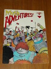 MYTH ADVENTURES #4 DECEMBER 1984 WARP GRAPHICS US MAGAZINE~
