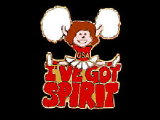 I've Got Spirit Red Cheerleading Cheer Leader Lapel Pin - Lift Her Spirits
