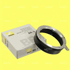 Genuine Nikon BR-3 Mount Adapter Ring 52mm thread BR3