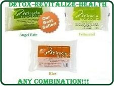 6 PACKAGES MIRACLE NOODLE SHIRATAKI PASTA FOR LOW CARB DIET & WEIGHT LOSS