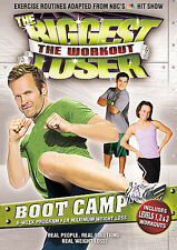 The Biggest Loser - The Workout: Boot Camp (DVD, 2008) Brand New  LOC # B16
