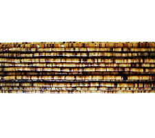 Brown Pen Shell Heishi Beads (1.5 mm, 24 Inches Strand)