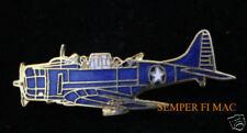 SBD DAUNTLESS DIVE BOMBER LAPEL HAT PIN UP WW 2 US NAVY PILOT CREW VETERAN GIFT