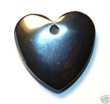 Hematite Crystal Gemstone Heart Reiki Blessed for your Dog or Cat or Pet Healing