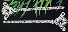10Pcs Tibetan Silver Bookmarks 134x39mm