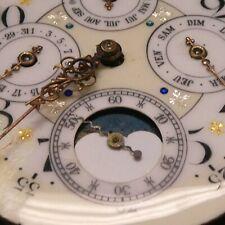 HUGE Vacheron Constantin Perpetuel Calendar Moon Phase Chronograph Pocket Watch