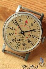 POBEDA ZIM Gift Shturmanskie  Mens Wrist Watch  Soviet Vintage nж