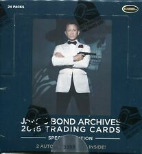 James Bond Archives 2016 Spectre Factory Sealed Hobby Box