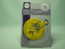 """ONE LARGE 4"""" ADHESIVE DISC WALL HANGER & HOOK Maximum Plate Size 12"""" 30cm 2.5KG"""