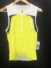 ZOOT - Men's Performance Tri Tank - Triathlon - Volt  Yellow - Small