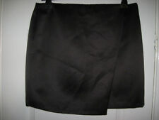 Papaya Polyester Party Plus Size Skirts for Women