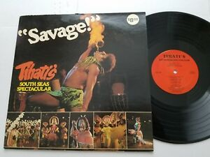 TAHITI'S South Seas Spectacular PACIFIC HAWAII FOLK (LP) Sonny Kamahele