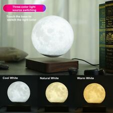 3D Magnetic Levitation Moon Lamp Night Light Rotating Led Moon Floating Lamp