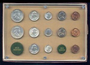 1950 PDS US mint set in old plastic holder