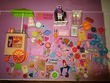 Barbie Grocery Food Lot Doll Size Kitchen Littles Juice Dishes for OOAK or Play