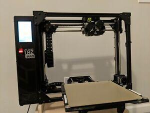 Lulzbot Taz Pro, Dual Extruders, Large Volume 3D Printing