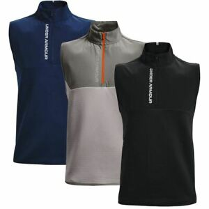 Under Armour Mens UA Storm Daytona 1/2 Zip Sleeveless Insulated Golf Gilet Vest