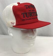 Vintage De Met's The Original Turtles SnapBack Mesh Trucker Hat Cap