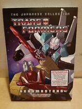 Transformers Headmasters Japanese tv series on DVD