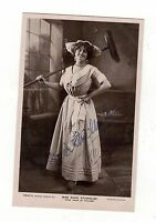 MISS.MARIE STUDHOLME. AUTOGRAPHED/SIGNED OLD REAL PHOTO.POSTCARD.