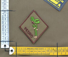 "Ricamata / Embroidered Patch Usaf PJ ""Pedro"" with VELCRO® brand hook"