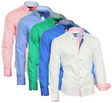 Herrenhemd Herrenhemden Herren Hemden langarm Hochzeit Binder de Luxe 823