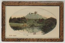Dorset postcard - Corfe Castle - RP - Embossed