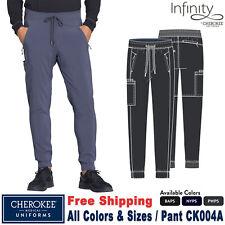 Cherokee Scrub Infinity Pantalón deportivo para hombre de cintura con cordón CK004A